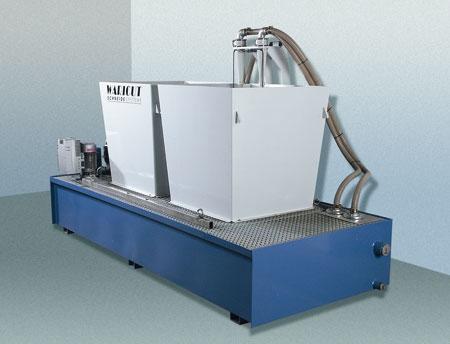 Entschlammungsanlage für Maschinengrößen bis 4.000 x 2.000 mm