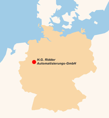 Lageplan Deutschland